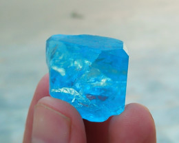 107.45 CTs Natural Blue Topaz Rough