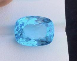 Splendid 22.40 Carat Natural Stunning Swiss Blue Topaz