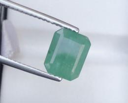 Ring Size Beautiful 3 Ct Natural Zambia Emerald Gemstone
