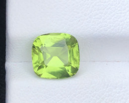 Parrot Green Color 2.30 Ct Natural Top Quality Peridot