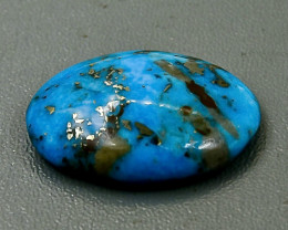 Crt  24.04 turquoise  Faceted Gemstone (Rk-27