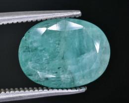 Crt  3.45 emerald  Faceted Gemstone (Rk-27