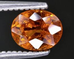 Crt 1.08 spessartite garnet   Faceted Gemstone (Rk-27
