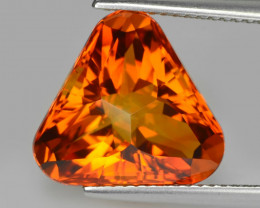 8.06Cts Genuine Natural Citrine Trillion Custom Cut Loose Gemstone