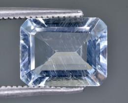 Crt  2.74 aquamarine  Faceted Gemstone (Rk-27