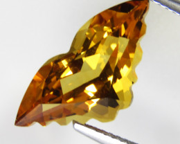 5.56Cts Wow  Excellent Natural Citrine Butterfly Cut Collection