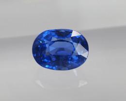 1.03ct unheated blue sapphire