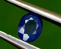 0.68CT BLUE SAPPHIRE HEAT BE BEST QUALITY GEMSTONE IIGC120