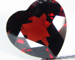 4.45Cts Genuine Natural Unheated Almandaine Garnet Heart Shape