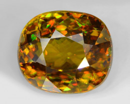 Color Change Sphene 2.53 Cts 100% Unheated Natural Loose Gemstone -