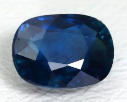 Unheated Sapphire 1.10Ct Certified Natural Australian Blue Sapphire A1819