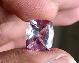 5 Ct Amethyst Faceted Natural Untreated Gemstone VA2038