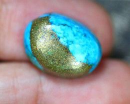 11.52Ct Natural Sleeping Beauty Turquoise Cabochon Lot LZ63