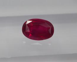 1.05ct unheated Burma Ruby