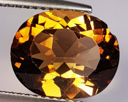 5.00 Ct Top Quality Oval Cut Natural Champagne Topaz