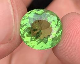GIA certified 7.07 carats Paraiba Tourmaline Gemstone copper bearing