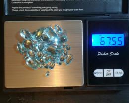 67,55ct of fine aquamarine #3