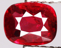 0.66 Cts Untreated Pinkish Red Spinel Natural Gemstone