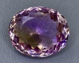 Crt  12.89 ametrine  Faceted Gemstone (Rk-28