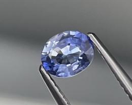 Srilanka Cornflower Blue AAA Quality Natural Sapphire 0.59 Cts