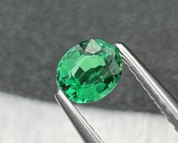 Rare Quality Afghanistan Panjshir Vivid Green Natural Emerald 0.36 Cts