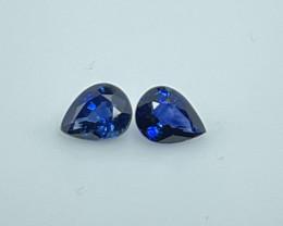 AAA Grade Ceylon Sapphire  Pairs