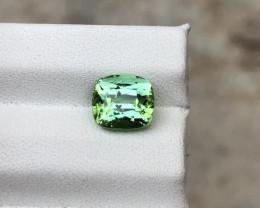 HGTL Certified 2.32 Carats Natural Tourmaline Nice Cut Gemstone