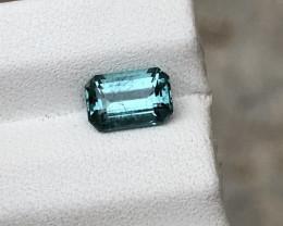HGTL Certified 1.23 Carats Natural Tourmaline Nice Cut Gemstone