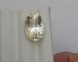 HGTL Certified 15.8 Carats Natural Kunzite Nice Cut Gemstone