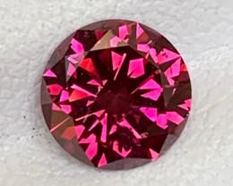 Spectacular 0.98 Carats Reddish Pink Diamond