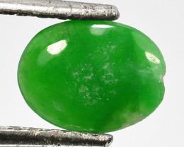 ~UNTREATED~ 0.97 Cts Natural Burmese Jade Oval Cabochon