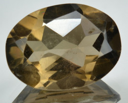 9.55 Cts Natural Smoky Quartz Brazil Gemstone