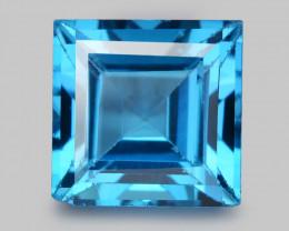 London Topaz 4.26 Cts Rare Fancy Blue Color Natural