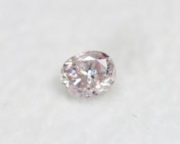 Pink Diamond 0.19Ct Natural Untreated Genuine Fancy Diamond BM833