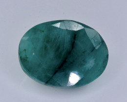 Crt 5.81 emerald  Natural  Faceted Gemstone.( AB 33)