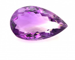14.05 Cts  Top color Fancy cut Natural  Amethyst Gemstone