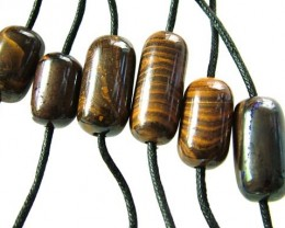 CHOCOLATE IRONSTONE BEAD PARCEL 247.30 CTS [GT 1760]