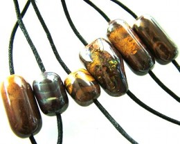 CHOCOLATE IRONSTONE BEAD PARCEL 272.75 CTS [GT 1766]