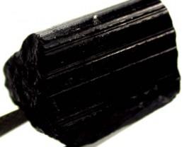 BLACK TOURMALINE ROUGH  35 CTS AS-2215