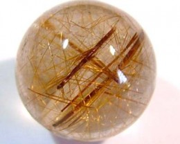 RUTILATED QUARTZ  BRIOLETTE 8.70CTS NP-1111