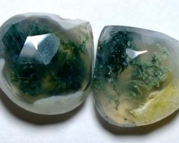 SOLAR QUARTZ DRILLED BEAD 30.30CTS NP-1219