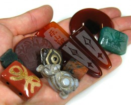 RE SELLERS DEAL SPECIAL AGATE BEADS ONLY $3.00  TR 630