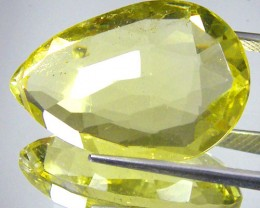 CERT FACETED CITRINE GEMSTONE 18.55 CTS 0180