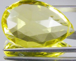 CERT FACETED CITRINE GEMSTONE 17.09 CTS 0185