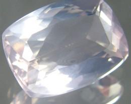 CERT ROMANTIC PINK ROSE QUARTZ GEM 5.98 CARATS 0175