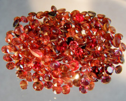 CERT PARCEL FACETED GARNET GEMSTONES 20.70 CTS 0081