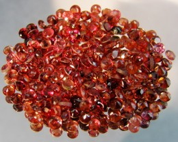 CERT PARCEL FACETED GARNET GEMSTONES 29.88 CTS 0083