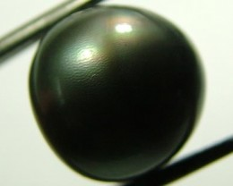 TAHITIAN PEARLS -BLACK BAROQUE PEARL-  12/13  MM [PF1136 ]