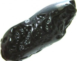JET BLACK TEKTITE-GHANA 52.00 CT [MX 5082]