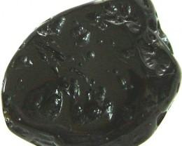 JET BLACK TEKTITE-GHANA 28.60 CT [MX 5096]